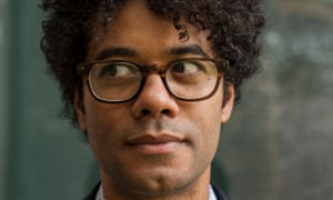 Evade, self-deprecate, move it along … Richard Ayoade. Photograph: Antonio Olmos for the Guardian