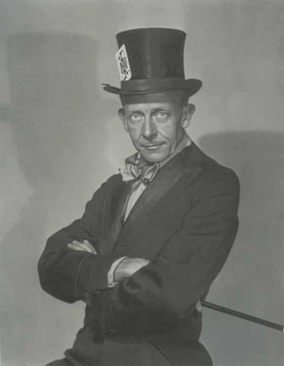 William Mortensen self-portrait Mad Hatter