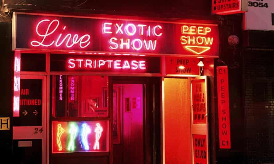 Sex shop, Soho, London