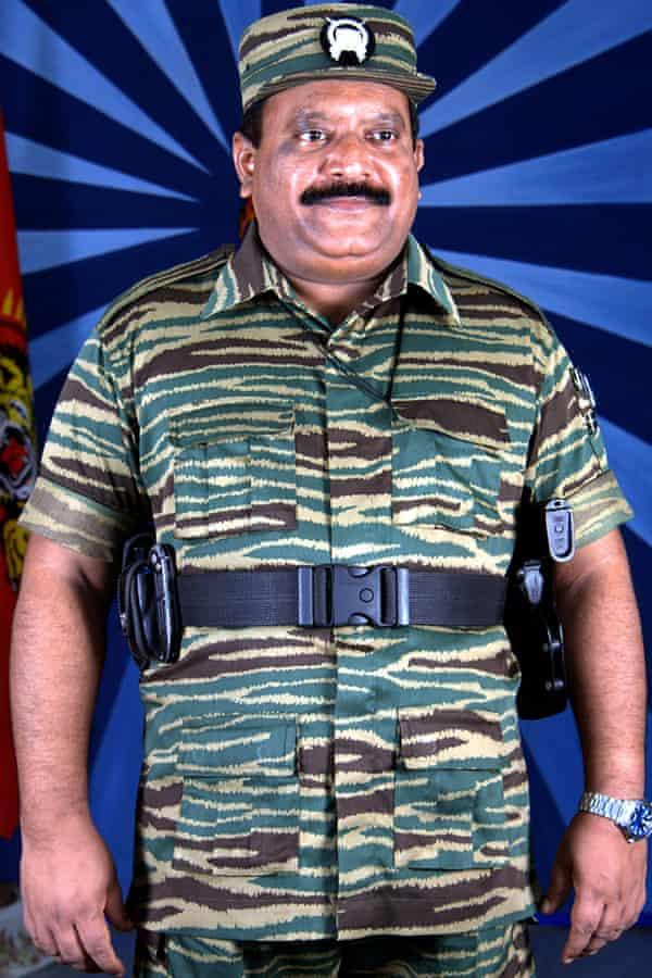 Velupillai Prabhakaran, leader of the Tamil Tigers