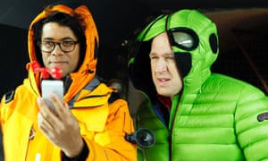 Hi-tech ... Ayoade in Gadget Man. Photograph: North One Television