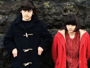 Craig Roberts and Yasmin Paige in Richard Ayoade's film, Submarine