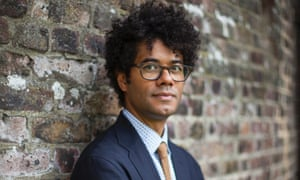 'The elephant in the room of any interview is, consume this product' ... Richard Ayoade. Photograph: Antonio Olmos for the Guardian