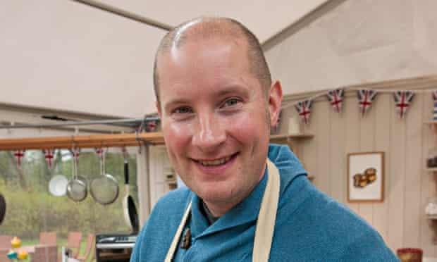 Great British Bake Off finalist Richard Burr