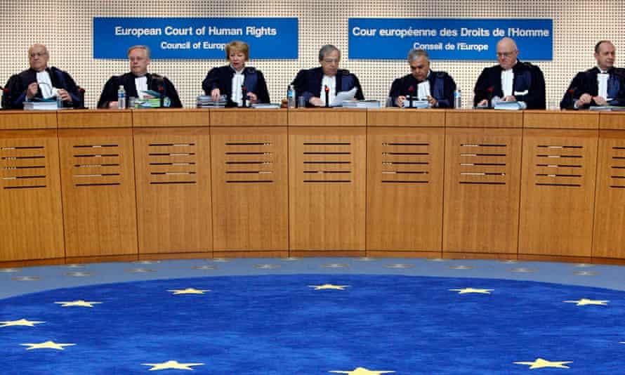 Judges ECHR freedland