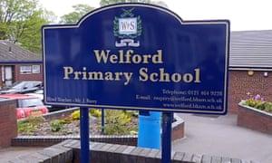 Welford Primary School in Birmingham