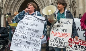 Protests against the work capability assessments run by Atos in 2013