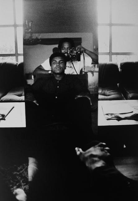 Howard Bingham with Ali