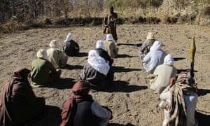 Pakistani Taliban undergo training in South Waziristan in 2011