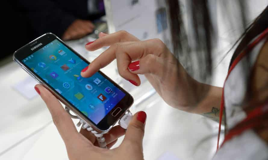 The Samsung Galaxy S5 did not sell as well as hoped