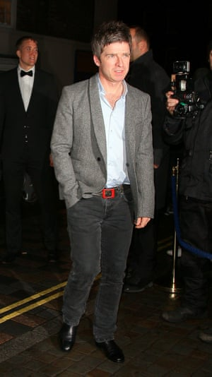 Noel Gallagher attending Mario Testinos Birthday party at the Chiltern Firehouse