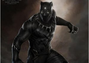 Marvel/Black Panther artwork