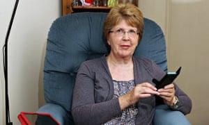 Maureen Ridgeway prefers electronic payments