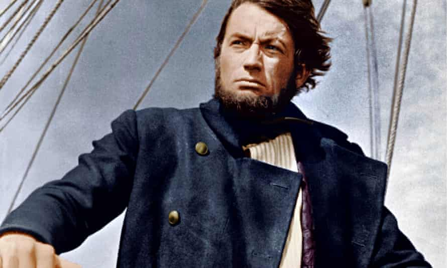 Gregory Peck as Ahab in John Huston's 1956 screen adaptation. Photograph: Cinetext/Allstar