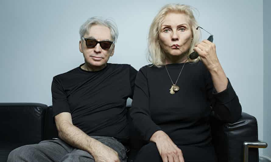 Chris Stein and Debbie Harry photographed by Mike McGregor for the Observer in New York last month.