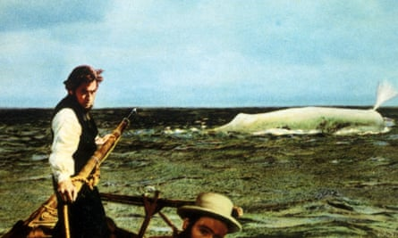 Ahab spies his quarry … Peck in Moby Dick