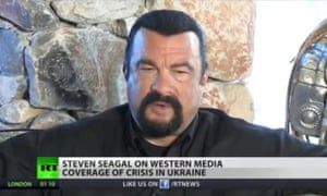 RT: Steven Seagal gives his views on western coverage of the Ukraine crisis