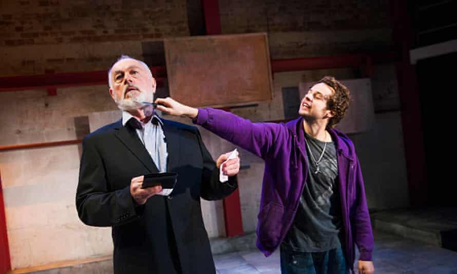 Peter Egan and Alex Waldmann as Otto and Jonah