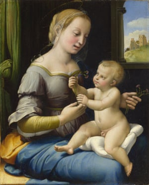 Raphael: The Madonna of the Pinks National Gallery, London