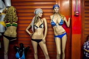 Mannequins in Caracas, Venezuela.