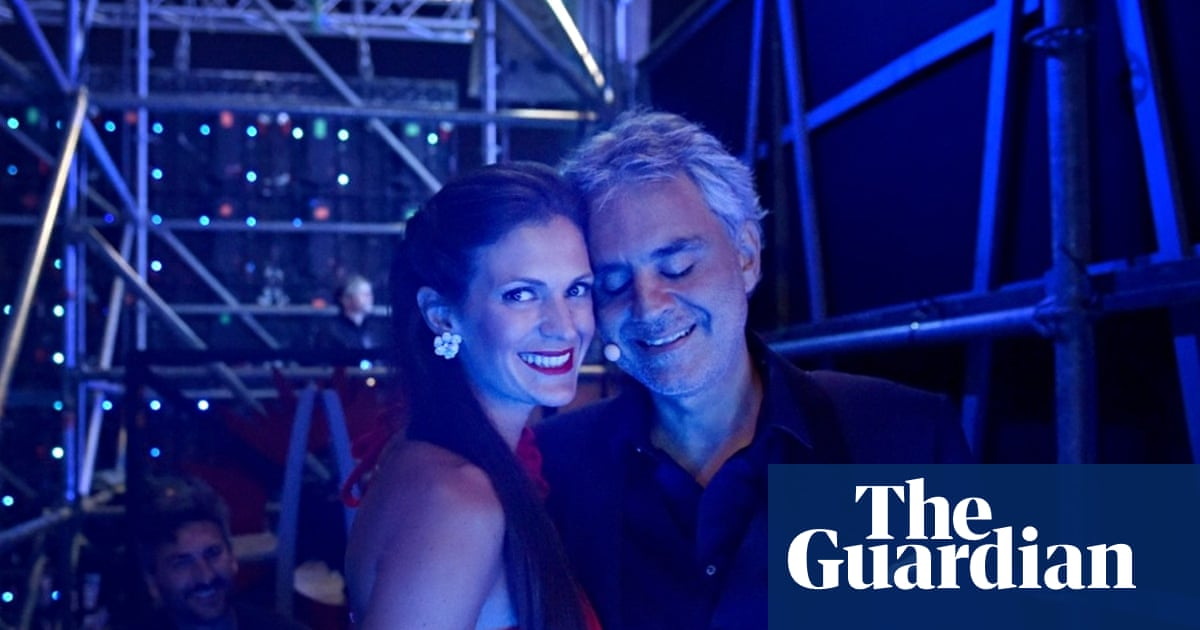 Tenor Andrea Bocelli and his wife Veronica on their musical
