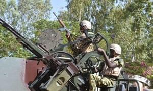 Burkina Faso troops