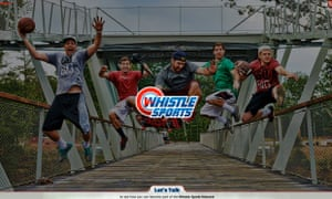 Whistle Sports网站