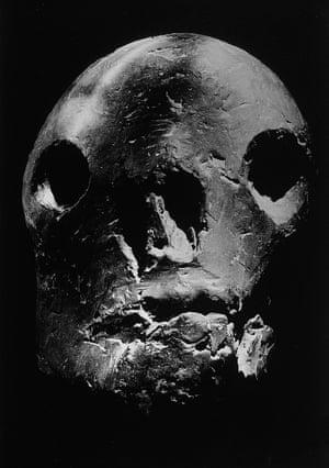 Death's Head, 1944. Bronze sculpture in Picasso's workshop.