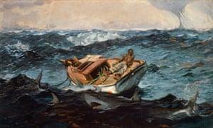 The Gulf Stream, 1899 by Winslow Homer (1836-1910).