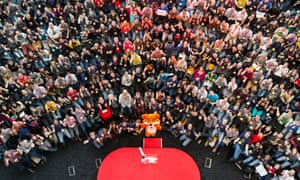The crowd at MozFest 2014 posing for the traditional group photo