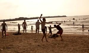 gaza enjoy beach