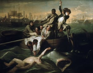 """Watson and the Shark."" John Singleton Copley"