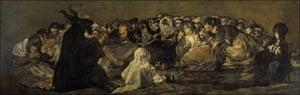 Witches' Sabbath, Goya.