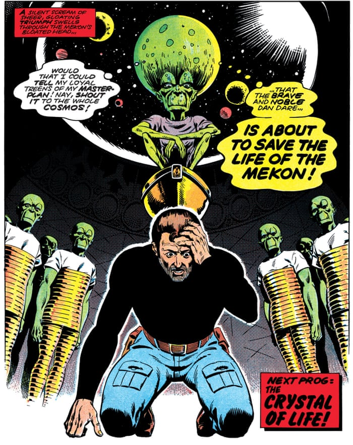 Image result for dan dare servant of evil