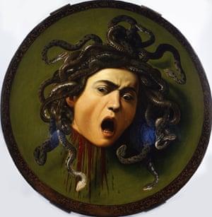 Medusa by Caravaggio.