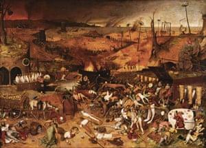Pieter Bruegel's The Triumph of Death (circa 1562).