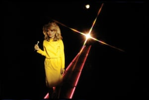 """Debbie Harry Blondie during a video shoot for """"Picture This"""", c.1978. Chris Stein"""