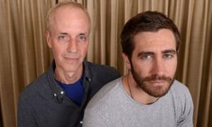 Gyllenhaal with his director, Dan Gilroy.
