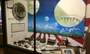 balloon bomb exhibit