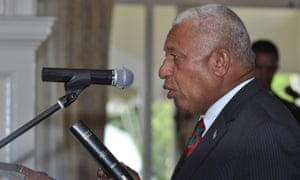 Australia and the US have lifted sanctions on Fiji after former military ruler Voreqe (Frank) Bainimarama won a democratic election.