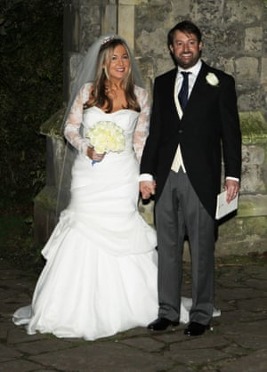 David Mitchell married fellow Observer Columnist Victoria Coren in 2012.