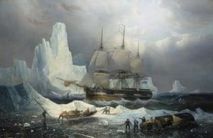 Francois Etienne Musin's Erebus on Ice (1846).