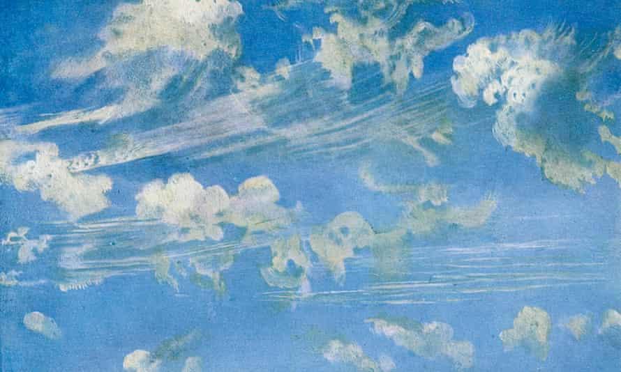Constable's Nature: cloud study, c1822