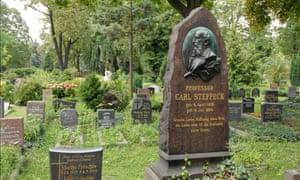 Le cimetière de la congrégation française de Berlin