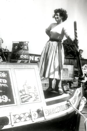 Sonia Smith, as she then was, on the water in 1947.