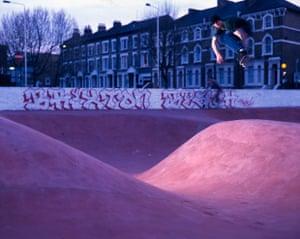 Stockwell skatepark in Brixton, London