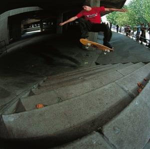 The Southbank undercroft skate park in London