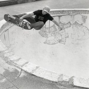 Rom skatepark in Hornchurch, Essex, Europe's first skatepark to get listed status.