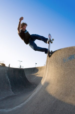 The charity-owned Southsea skatepark near Portsmouth