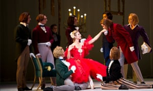 Royal Ballet's staging of Marguerite and Armand.
